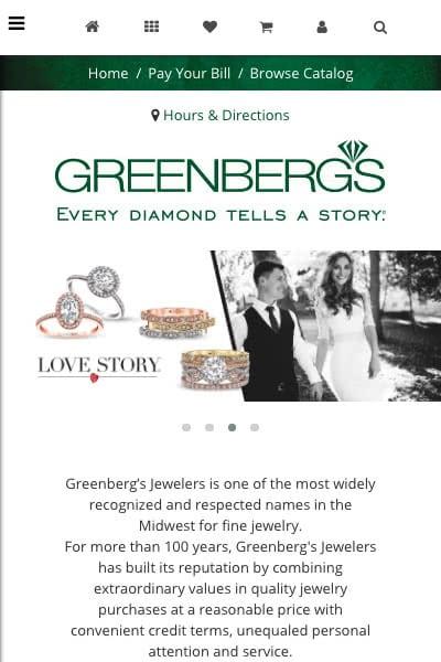 Jewelry Website Inspiration - Thinkspace